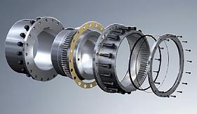 Acoplamento de Engrenagem GEARex® Tipo FR e DR