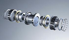 Acoplamento de Engrenagem GEARex® Tipo FH e DH