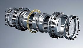 Acoplamento de Engrenagem GEARex® Tipo DA, DB e DAB