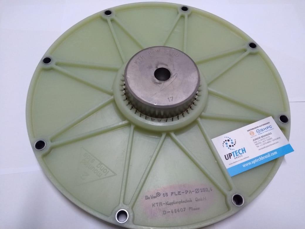 "Acoplamento BoWex® Tipo FLE-PA 65 furo guia 21mm - SAE 11,5"""