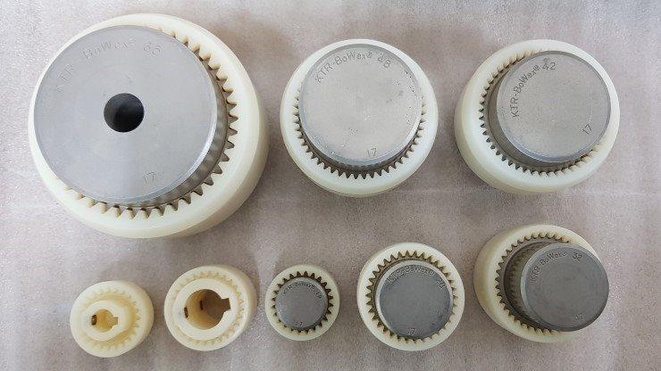 Acoplamentos de Engrenagem BoWex® - LINHA COMPLETA