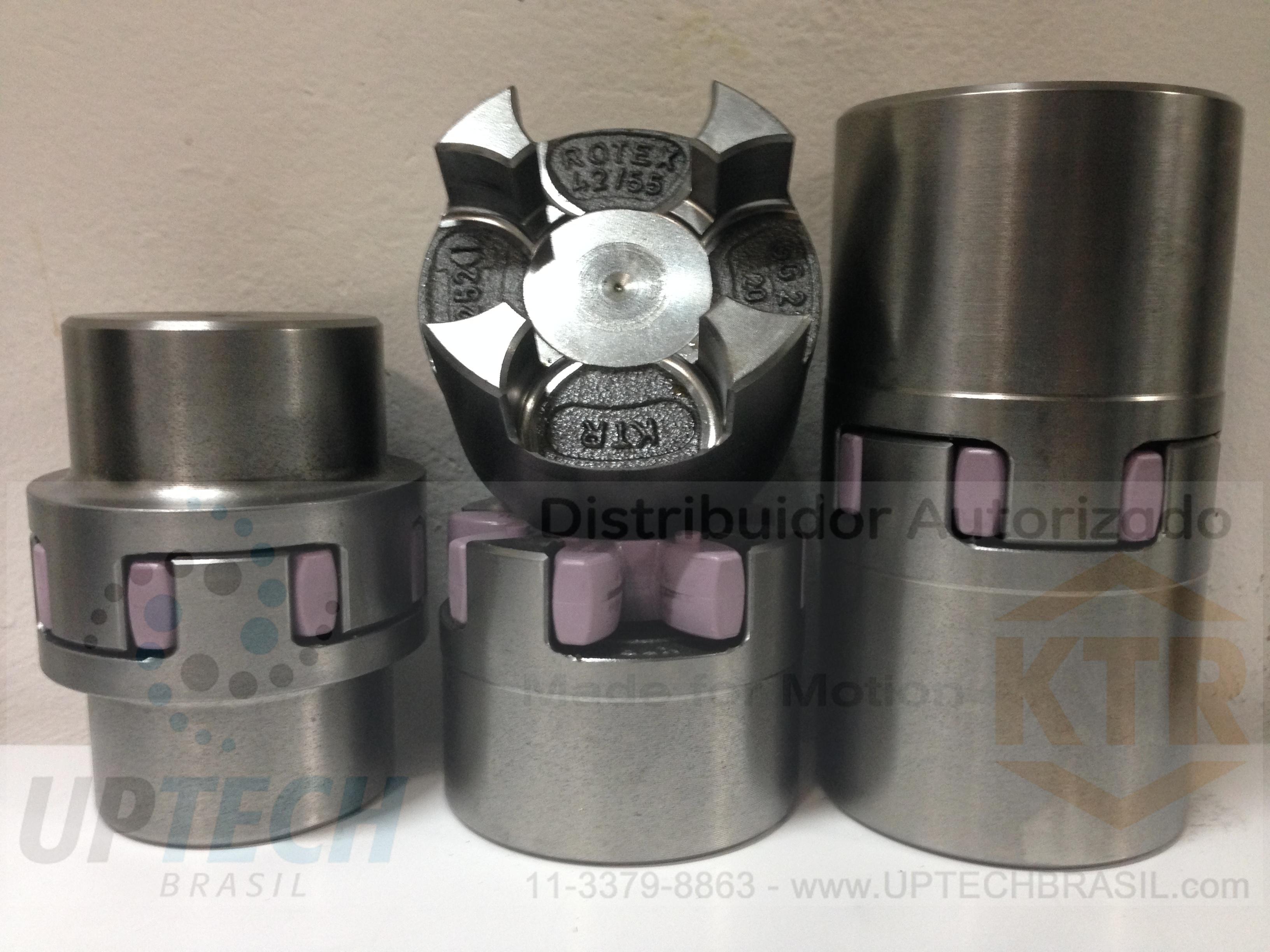ACOPLAMENTOS KTR ROTEX® GG25 (Ferro Fundido) - CUBOS - 1 / 1a / 1b