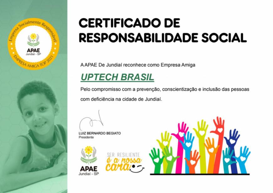 UPTECH BRASIL x APAE 2021