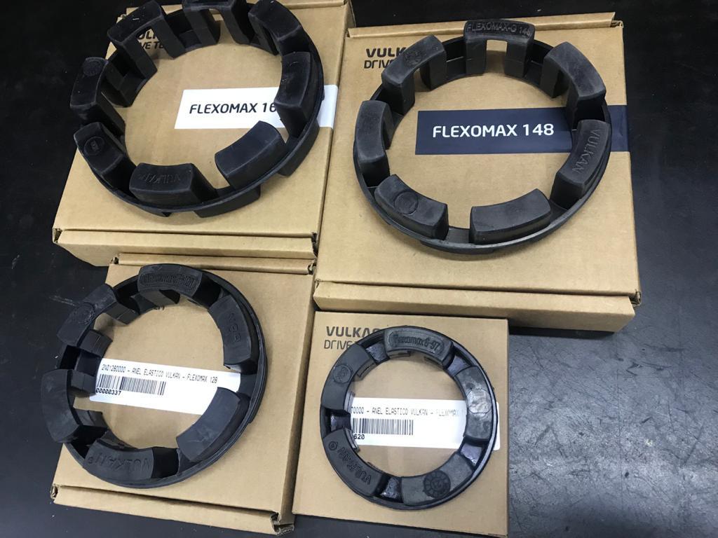 Elementos Elásticos Flexomax Vulkan Originais